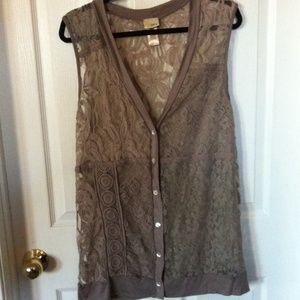 Daytrip lace vest